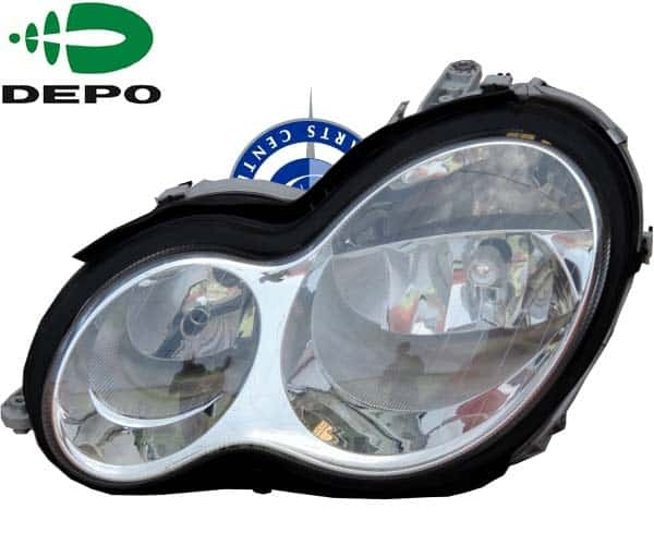 W203 HEADLIGHT NORMAL (LEFT SIDE) 2038203361 FROM DEPO TAIWAN 2004- TO UP  MODEL