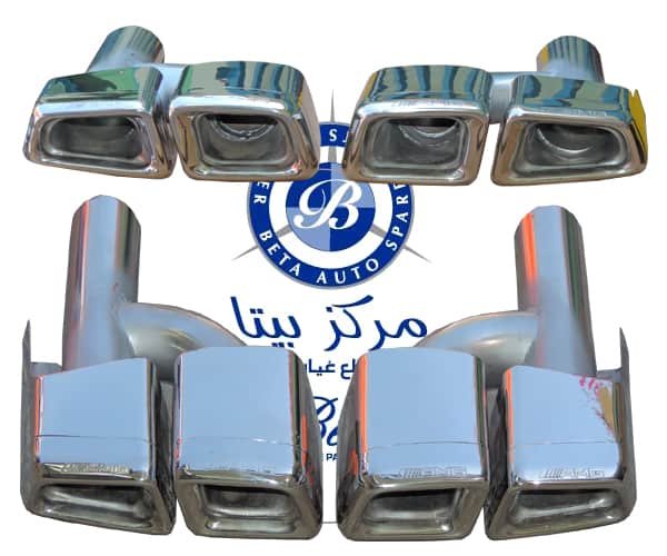 W204 EXHAUST PIPE C63 AMG (SET) 2124907435 / 2124907535 FROM