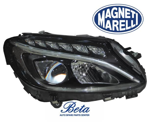 W205 HEADLIGHT NORMAL LED (RIGHT SIDE) 2058203761 / 2059067403 FROM MAGNETI  MARELLI 2014- TO UP MODEL