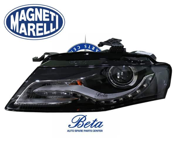 A4 Headlight Xenon Led Left Side 8k0941029c Magneti Marelli 2008 To 2011