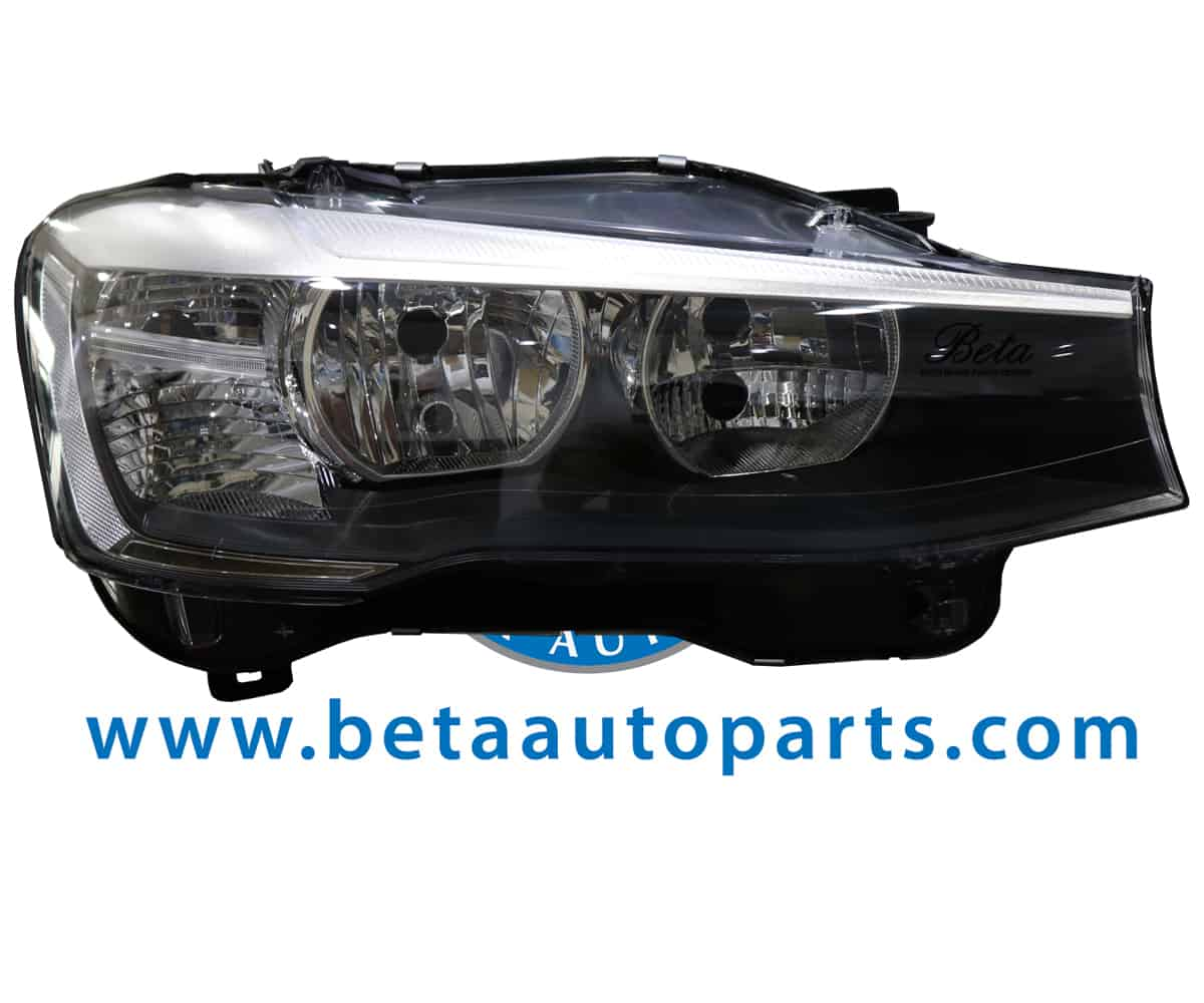 F26 Headlight Normal Without Bulb Right Side 63117334078