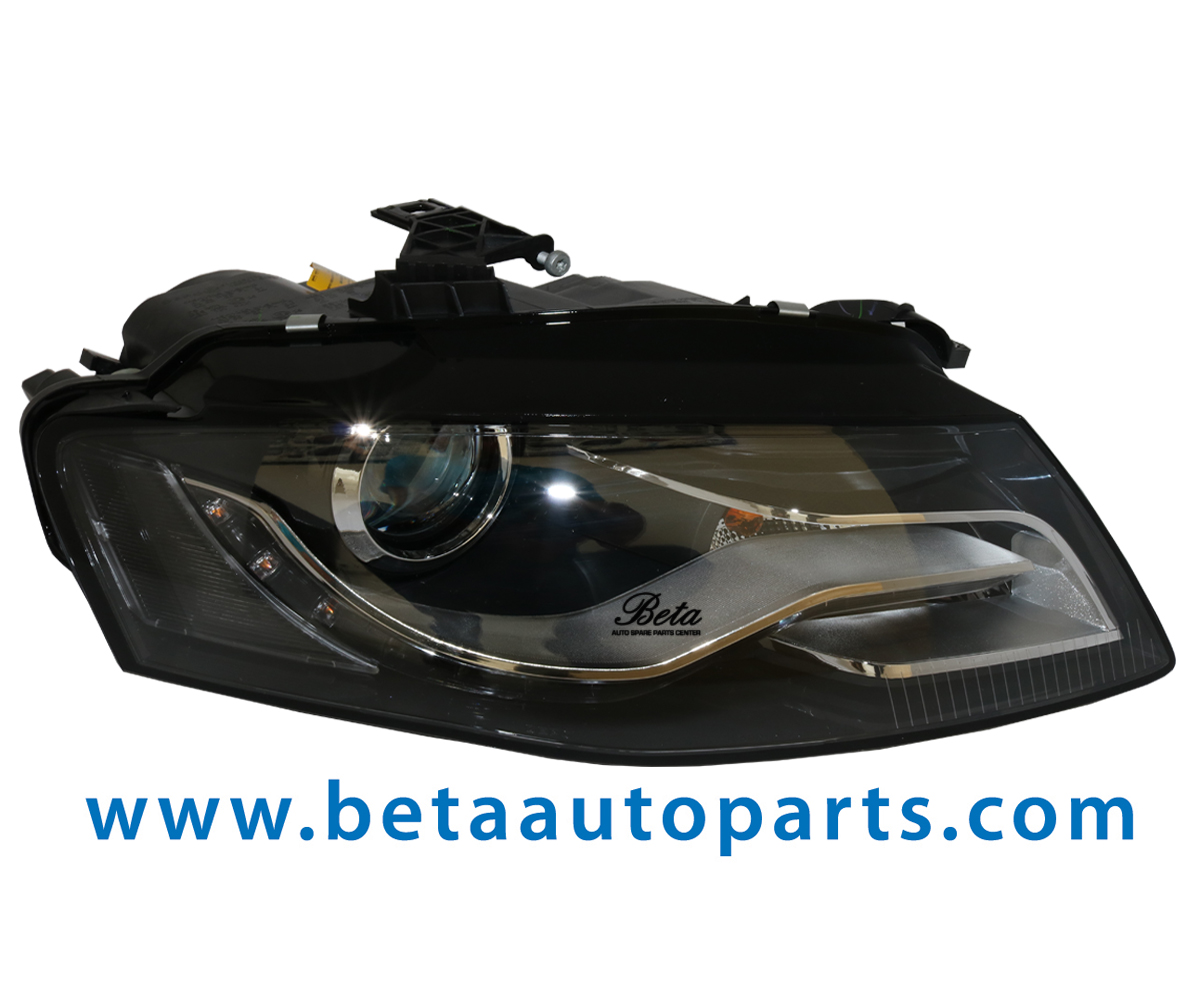 A4 Headlight Xenon Led Right Side 8k0941030g From Depo Taiwan 2008 To 2011 Model