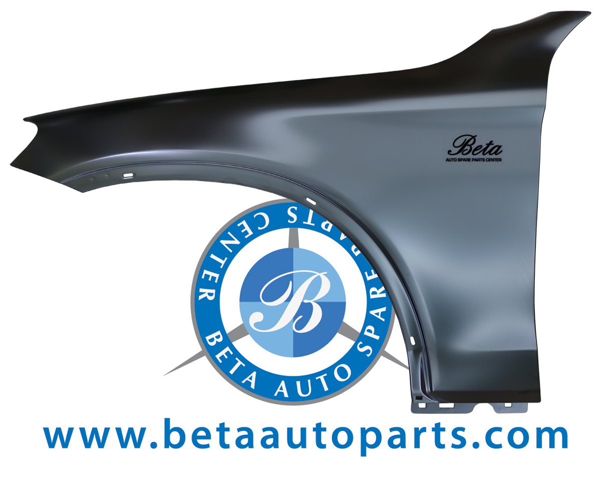 W253 Front Fender Aluminium Left Side 2538800118 From