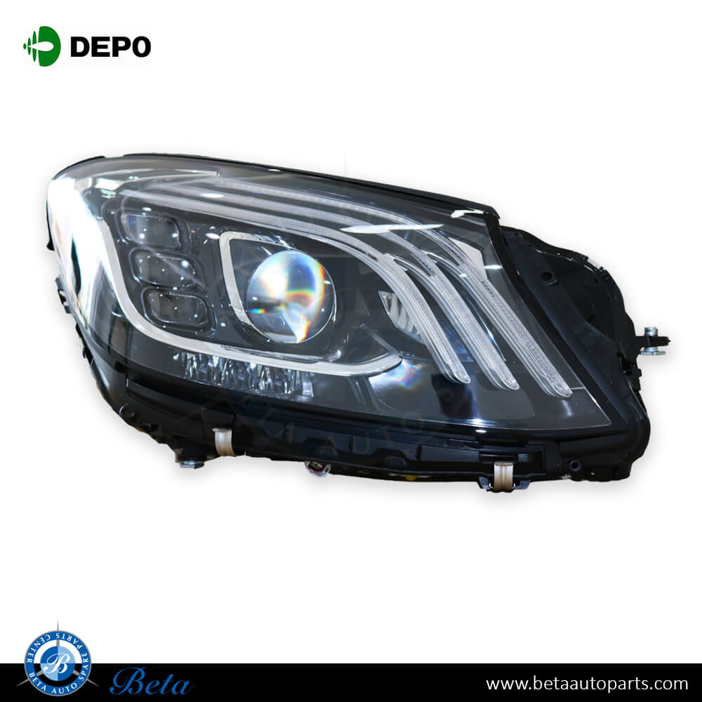 Mercedes S Class W222 2014 2017 Head Lamp Led Upgrade