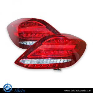 Mercedes C Cl W205 2017 Tail Lamp Set Upgrade To Led Usa Type China
