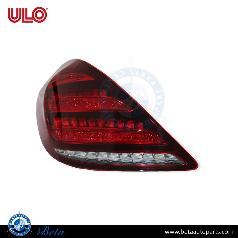 Mercedes S-Class W222 (2018-up), Tail lamp LED (Left), ULO, 2229066904
