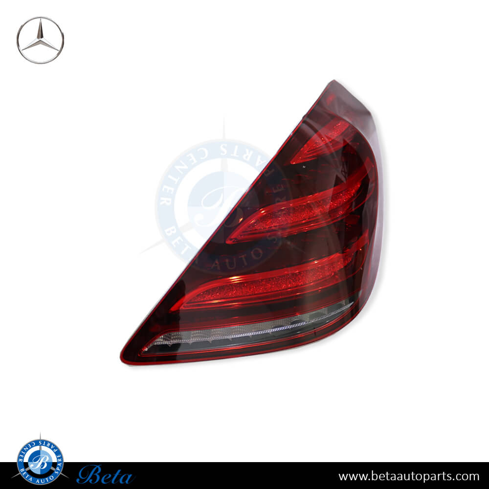 Mercedes S-Class W222 (2018-up), Tail lamp LED (Right), OEM, 2229067004