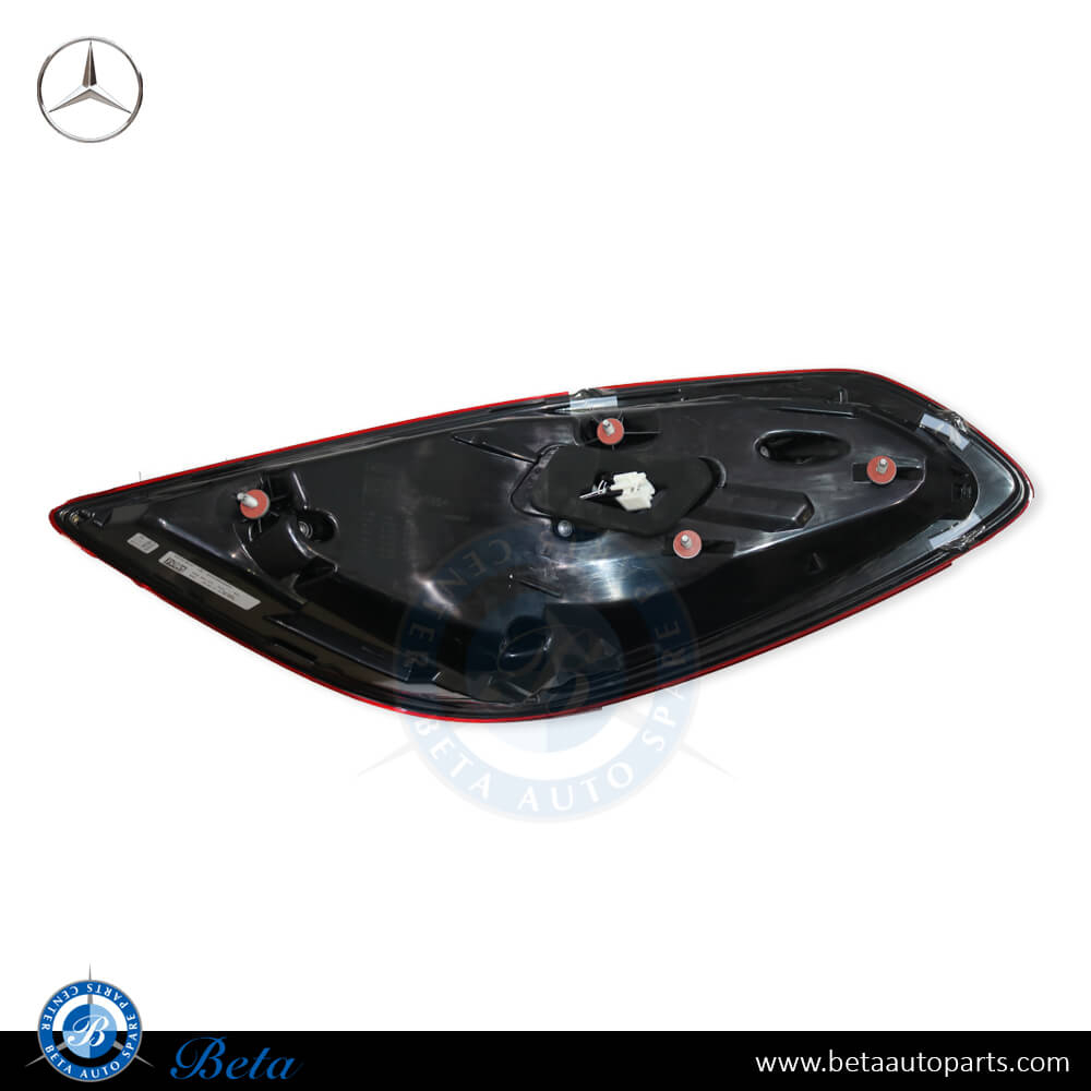 Mercedes S-Class W222 (2018-up), Tail lamp LED (Left), OEM, 2229066904