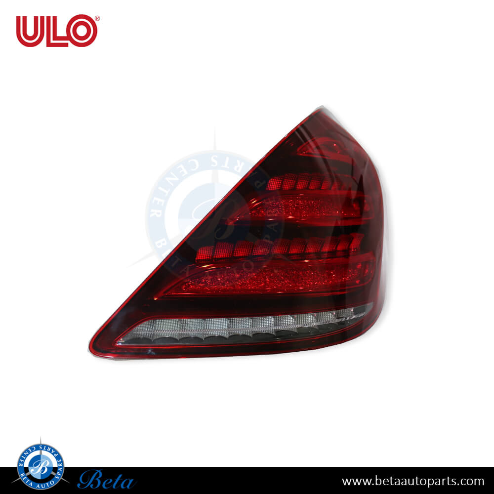 Mercedes S-Class W222 (2018-up), Tail lamp LED (Right), ULO, 2229067004