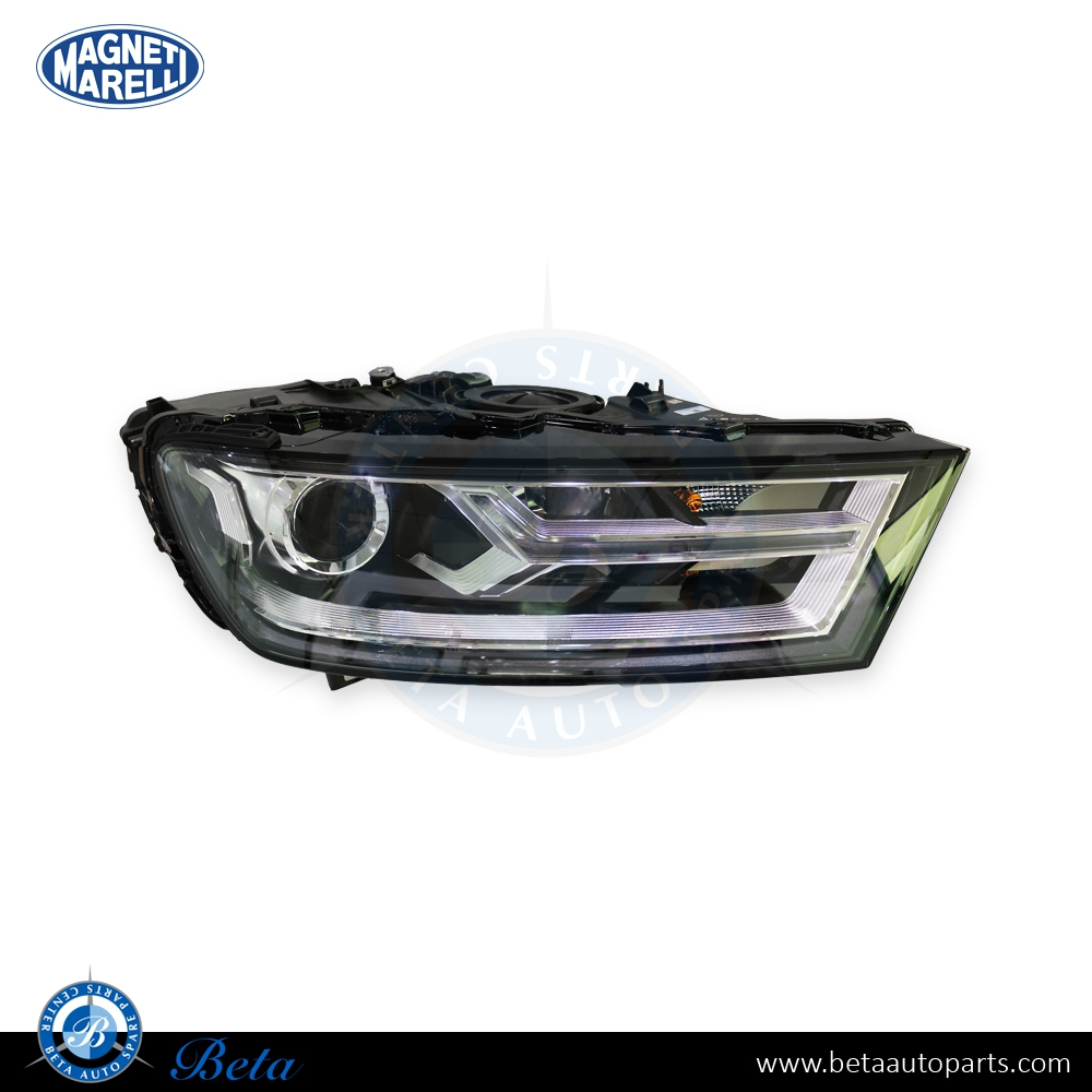 Audi Q7 (2015-up), Headlamp Bi-Xenon (Right Side), Magneti Marelli, 4M0941044C