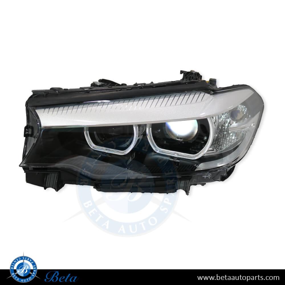BMW 5 Series G30 (2017-up), Headlamp LED (Left Side), China, 63117214951