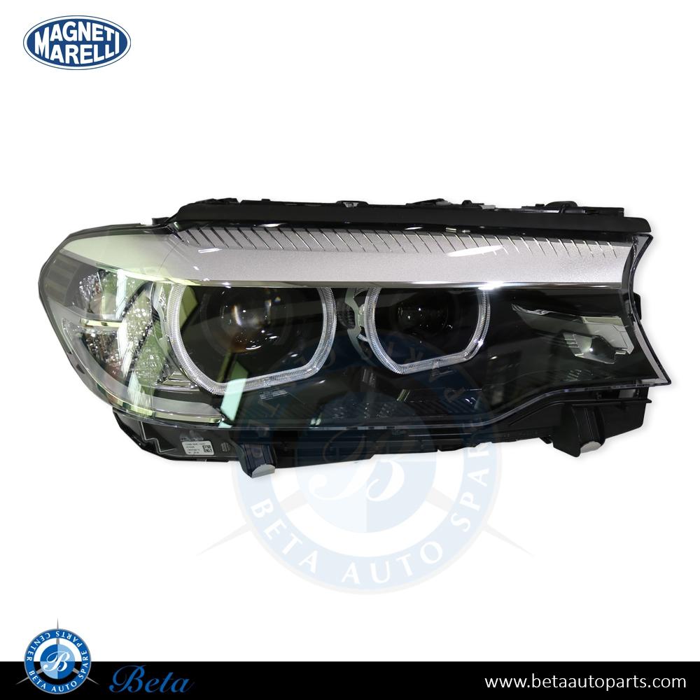 BMW 5 Series G30 (2017-up), Headlamp LED AHL (Right Side), Magneti Marelli, 63117214956