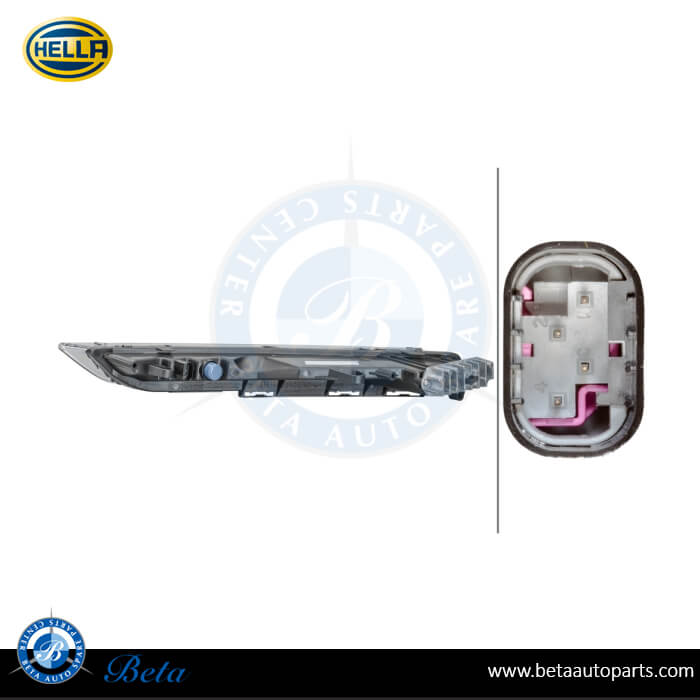Porsche Cayenne (2014-up), DRL Indicator (Right), Hella, 95863118230