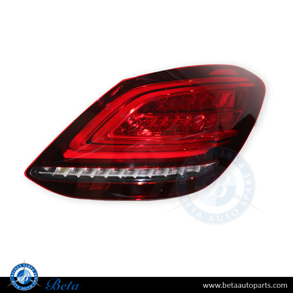 Mercedes C-Class W205 (2015-2018), Tail Lamp LED Upgrade to 2019 Without Following Indicator, China, 2059064503 / 2059064603