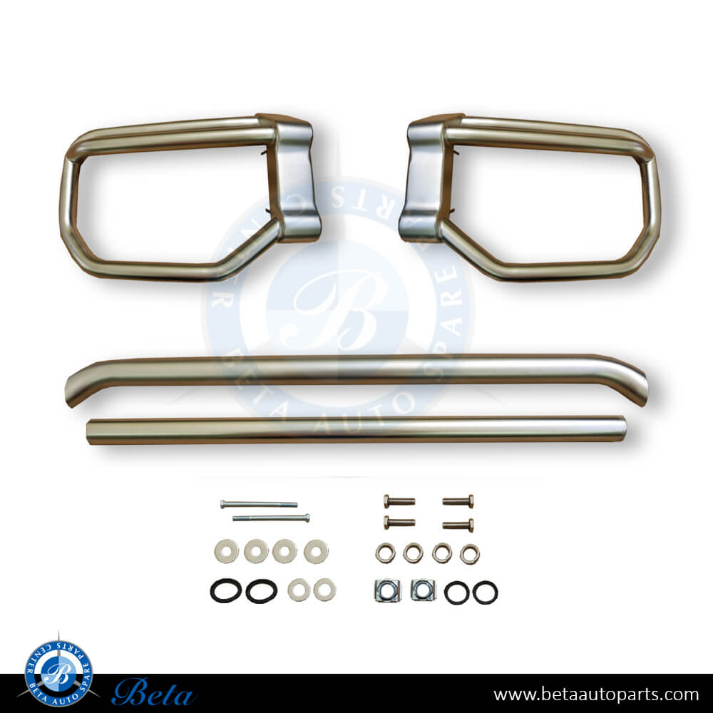 Mercedes G-Class W463 (1992-2017), Bull Bar Upgrade to 2018 Look (Chrome), China, 4638807801