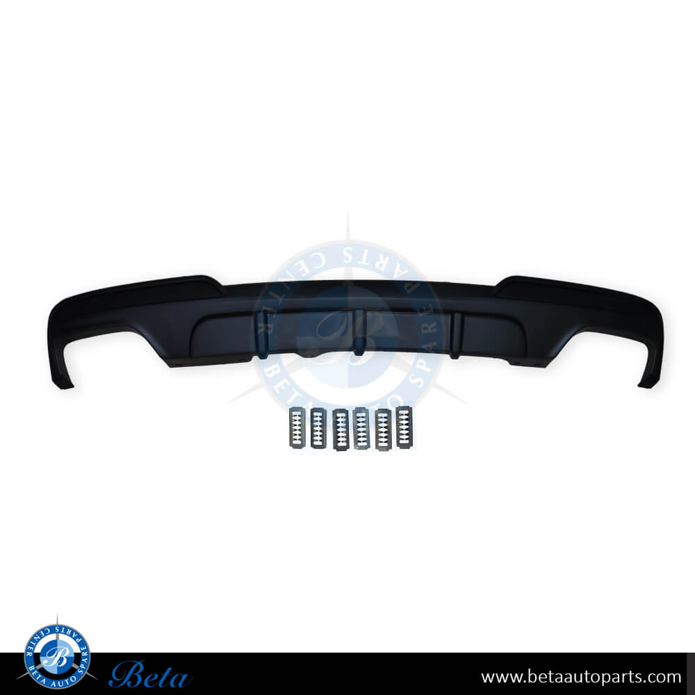 BMW 5 Series F10 (2010-2015), Rear Lower Spoiler (550) M Performance, Taiwan, 51192291363