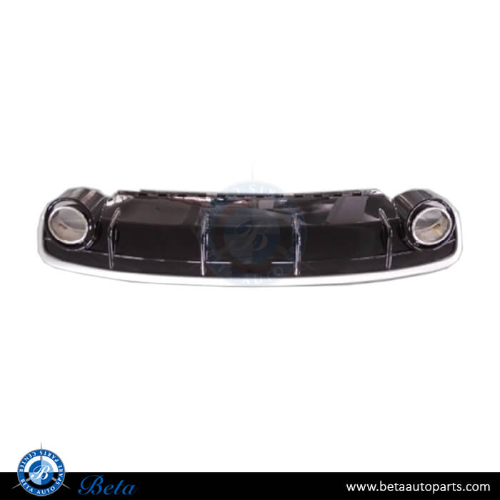 Audi Q7 (2016-up), RSQ7 Look Rear Diffuser with Exhaust Tips, China, 4M0807434