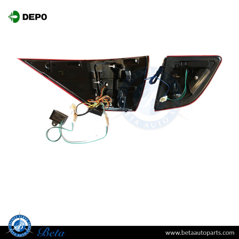 Mercedes ML-Class W166 (2012-2014), Tail Lamp Upgrade to 2015 Look  (USA Type), Depo