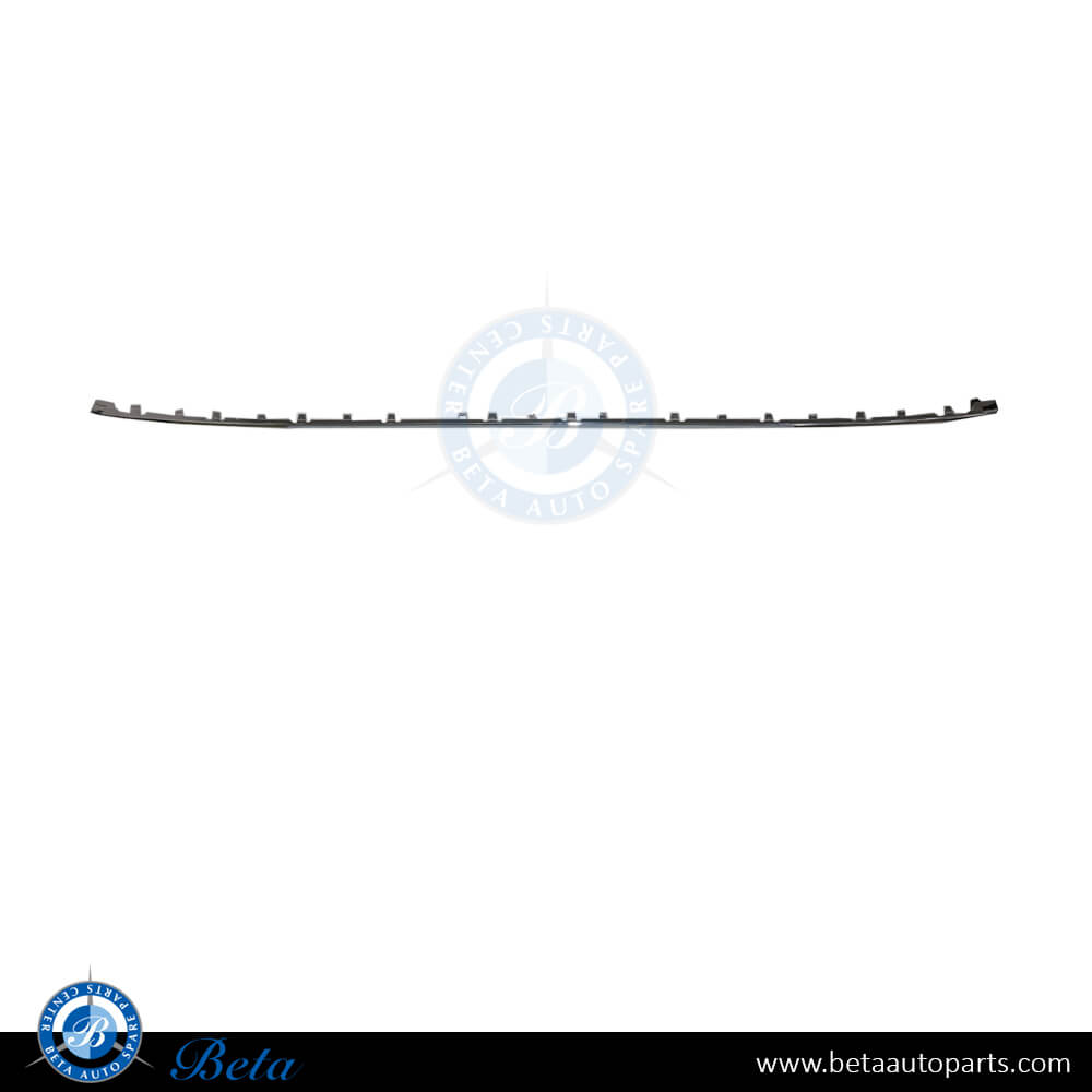51127384572 BMW F30 LCI Rear Bumper Chrome Moulding Luxury