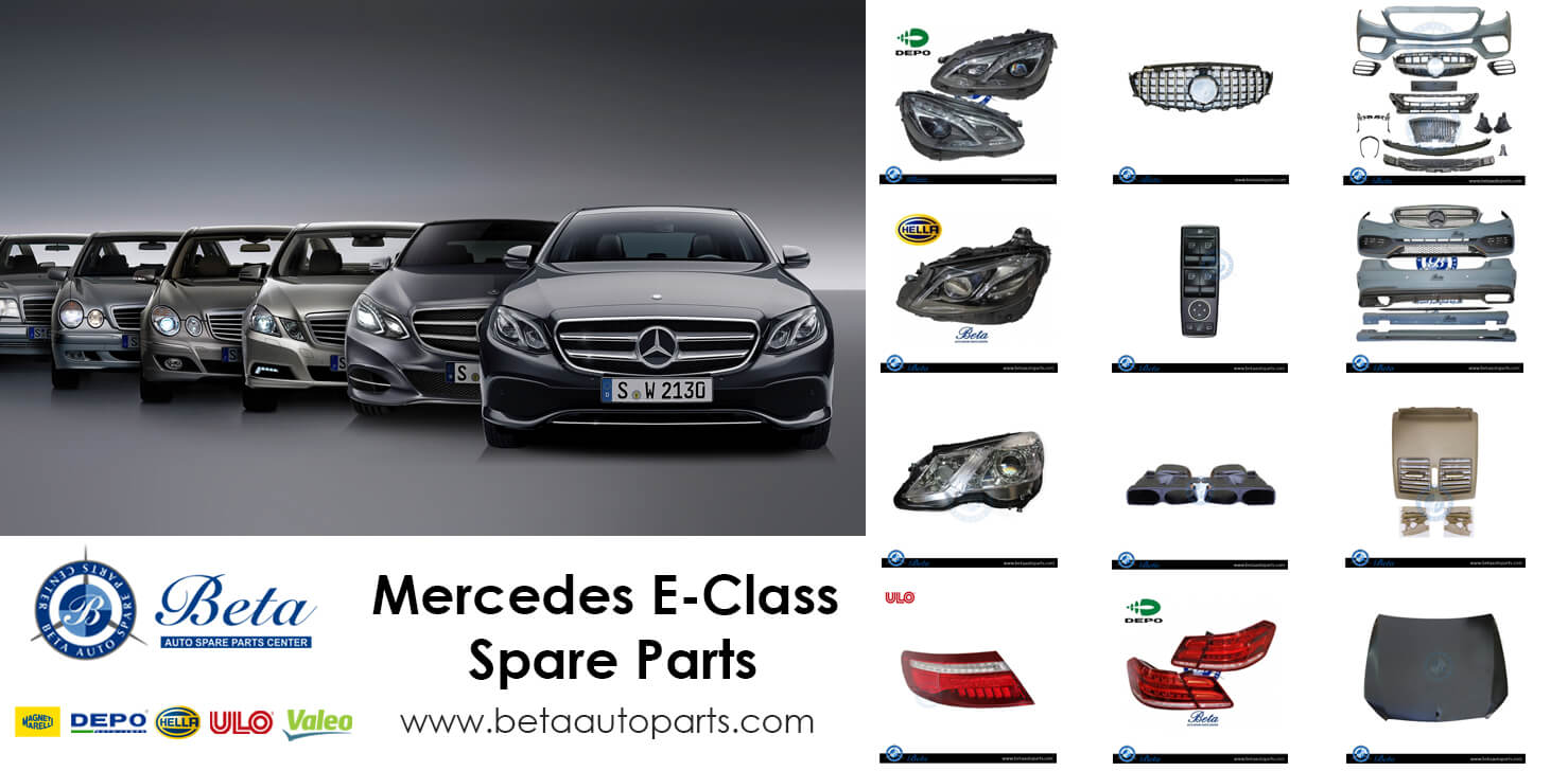 Mercedes E-Class Spare Parts