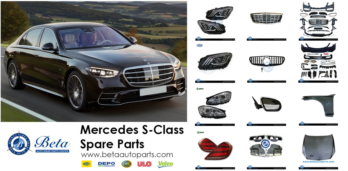 Mersedes S Class Spare Parts