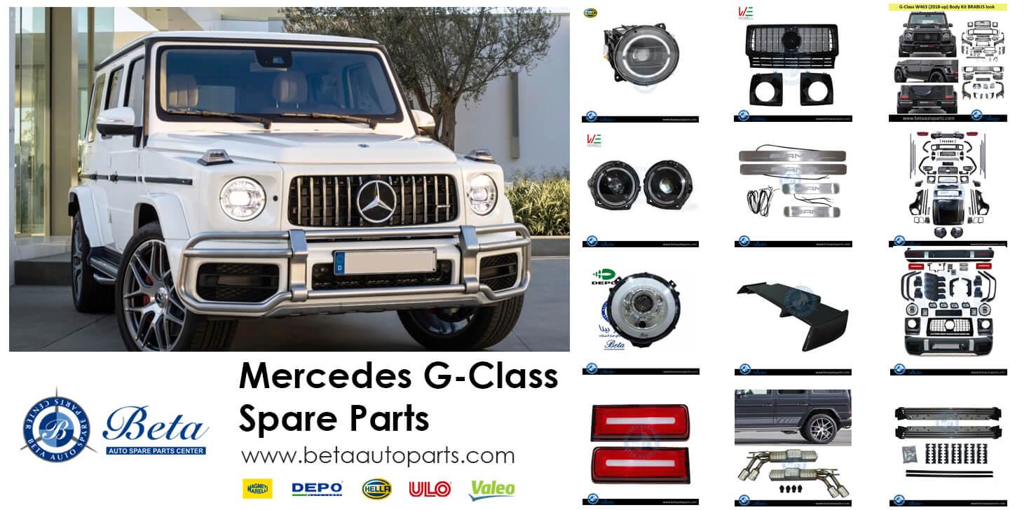 Mercedes G-Class Spare Parts