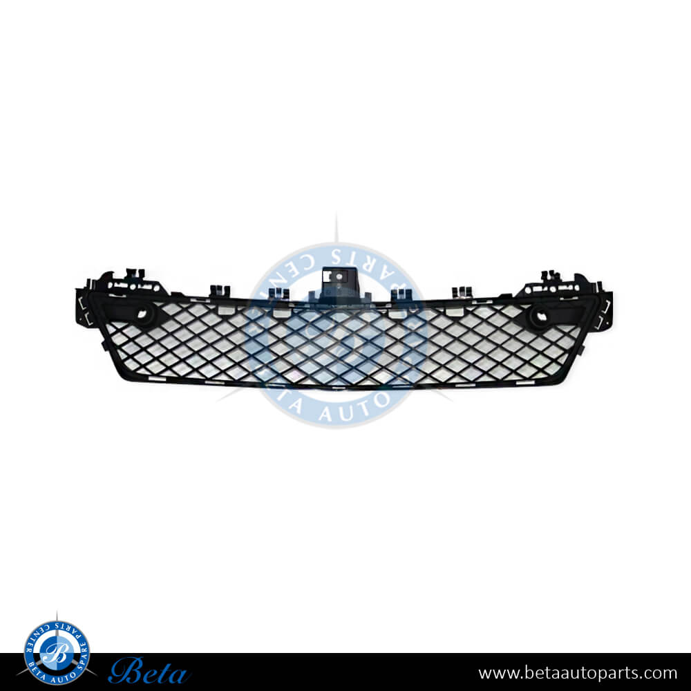 Mercedes C-Class W204 (2011-2014), Front bumper lower grille with PDC (center), Taiwan, 2048851324