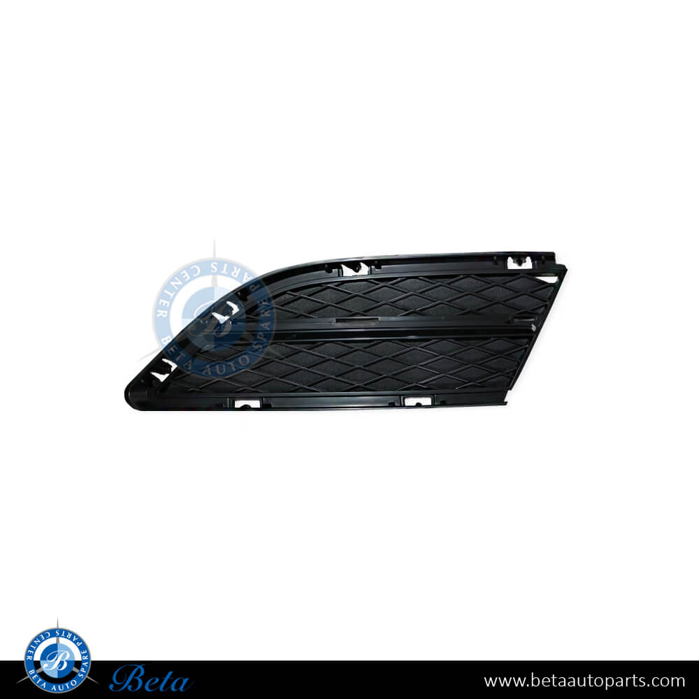 BMW 3 Series E90 LCI (2009-2011), Front bumper lower grille (Left), Taiwan, 51117138417