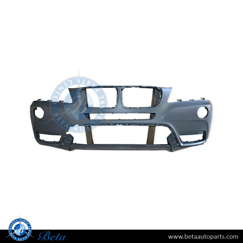 BMW X3 F25 (2011-2017), Front bumper without washer, Taiwan, 51117210451