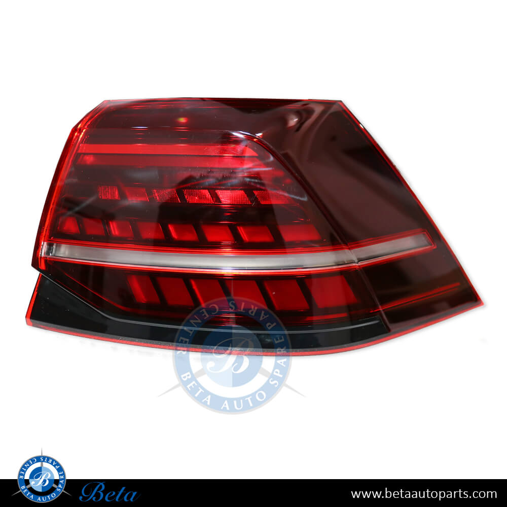 Volkswagen Golf 7.5 (2017-2019), Tail lamp upgrade to full LED look, China, 5G0945095Q / 5G0945096Q