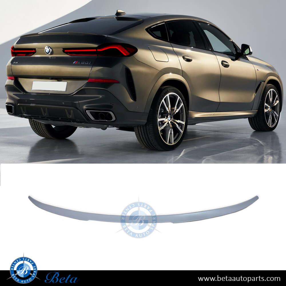 BMW X6 G06 (2020-Up), Trunk Spoiler M-Performance, Taiwan, 51628084544