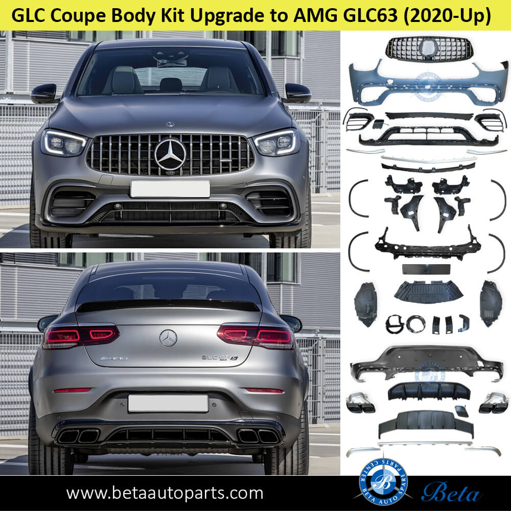 Mercedes GLC-Class Coupe W253 (2020-Up), Body Kit Upgrade to AMG GLC63 for Normal AMG, China