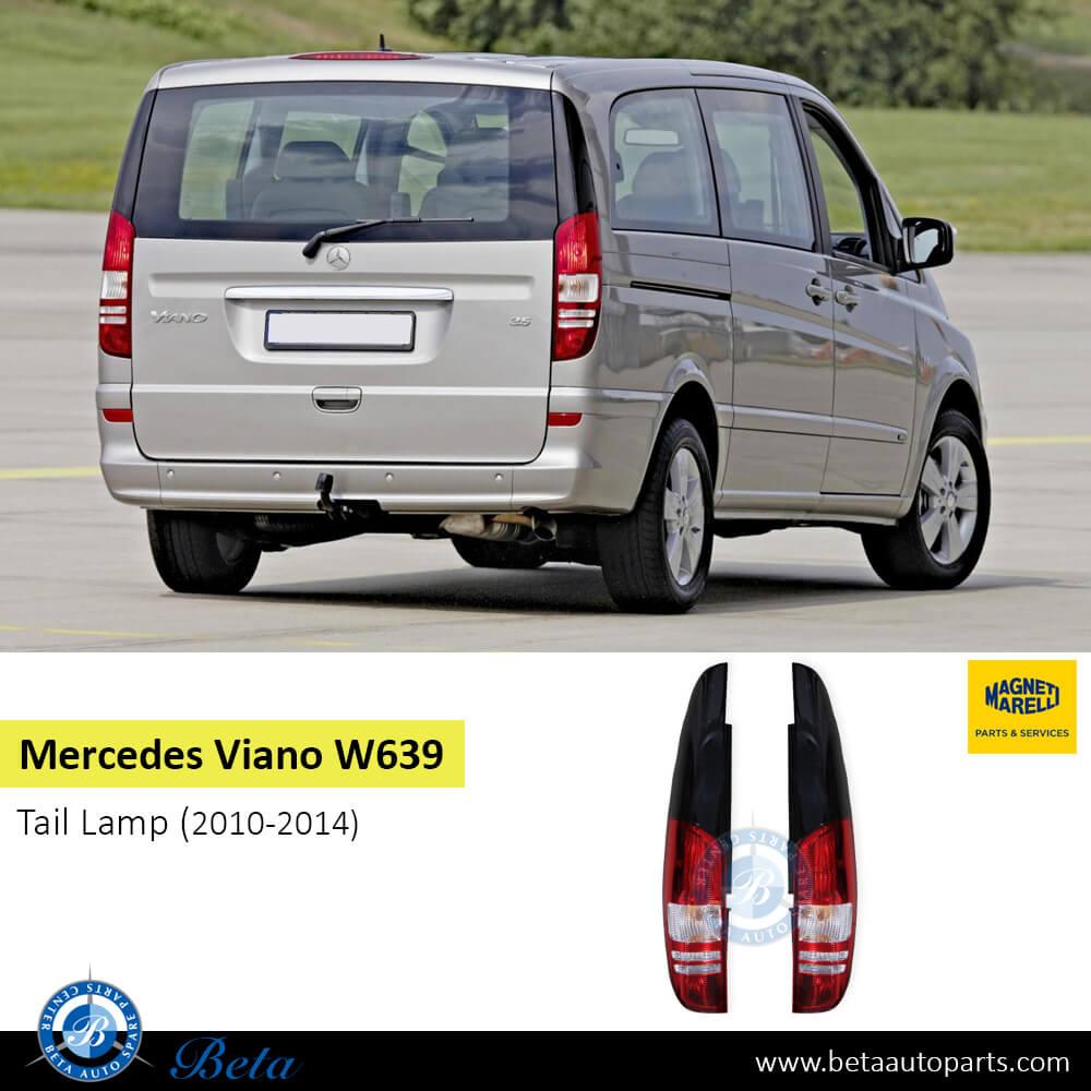 Mercedes Viano W639 (2010-2014), Tail Lamp (Left), Magneti Marelli, 6398201464