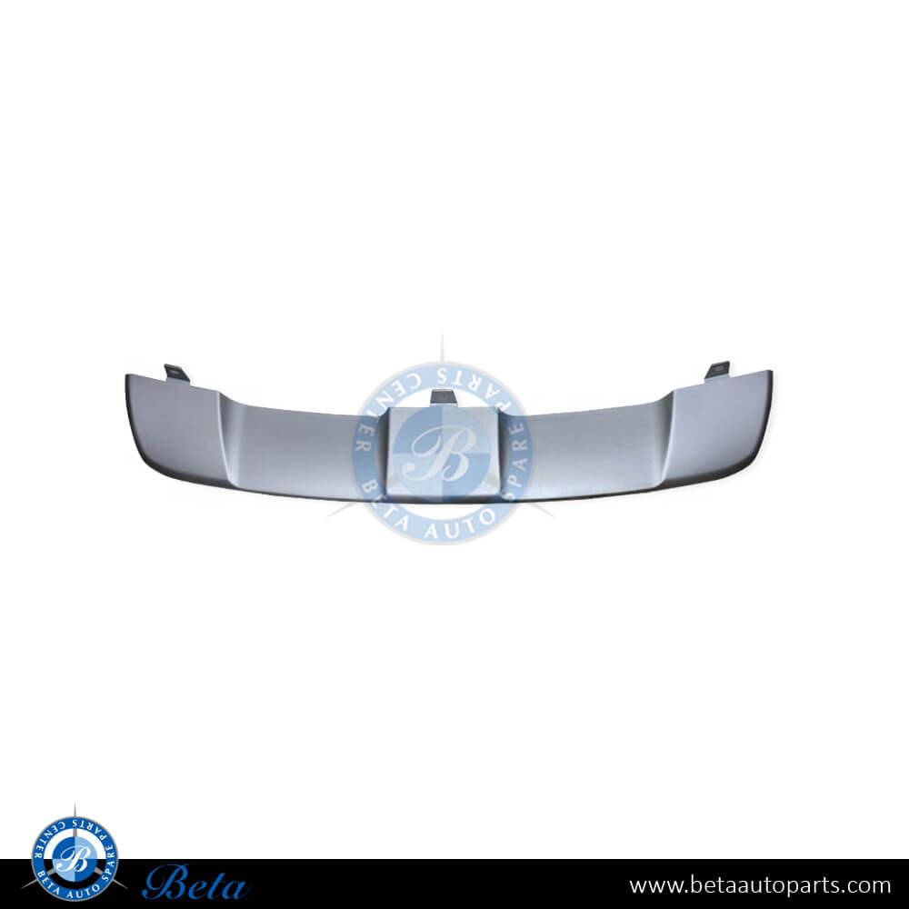 BMW X6 E71 (2008-2014), Front skid plate (Aluminum), China, 51117179849